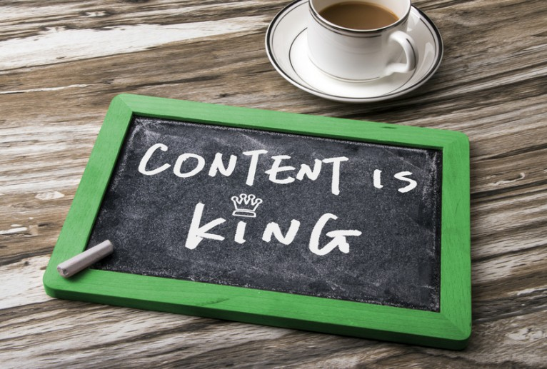 Content marketing. Content is koning